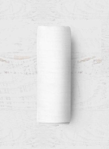 Maki Beyaz 100x200 Tek Kişilik Lastikli Çarşaf Takımı Beyaz